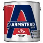 Armstead Trade High Gloss Brilliant White 5 Litres